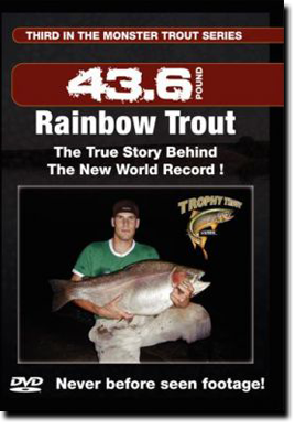 The New World Record Rainbow Trout DVD